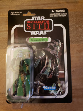 2010 Star Wars TVC Revenge of the Sith - Commander Gree VC43