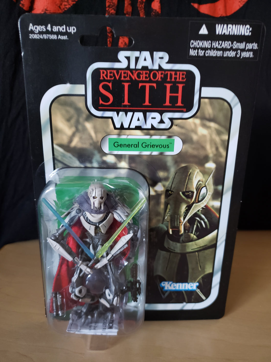 2010 Star Wars TVC Revenge of the Sith - General Grievous VC17