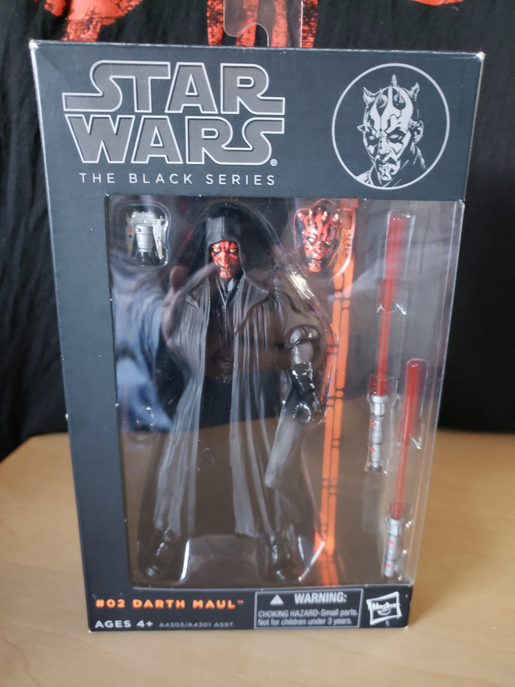 2013 The Black Series (Orange) #02 - Darth Maul (6-inch figure)