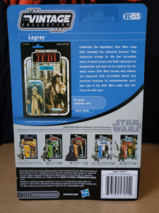 2011 Star Wars TVC Return of the Jedi - Logray (Ewok Medicine Man) VC55 (Unpunched)