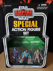 2012 Star Wars Special Action Figure Set - Bespin Alliance (unpunched)