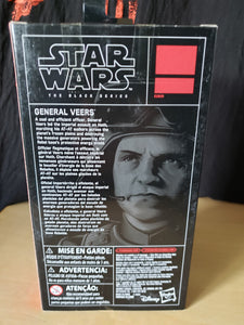 2017 The Black Series - General Veers (6-inch figure) Walgreens Exclusive