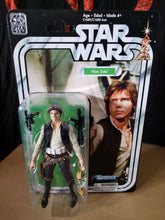 "Load image into Gallery viewer, 2016 Star Wars 40th Anniversary Kenner - Han Solo (6"" Figure)"