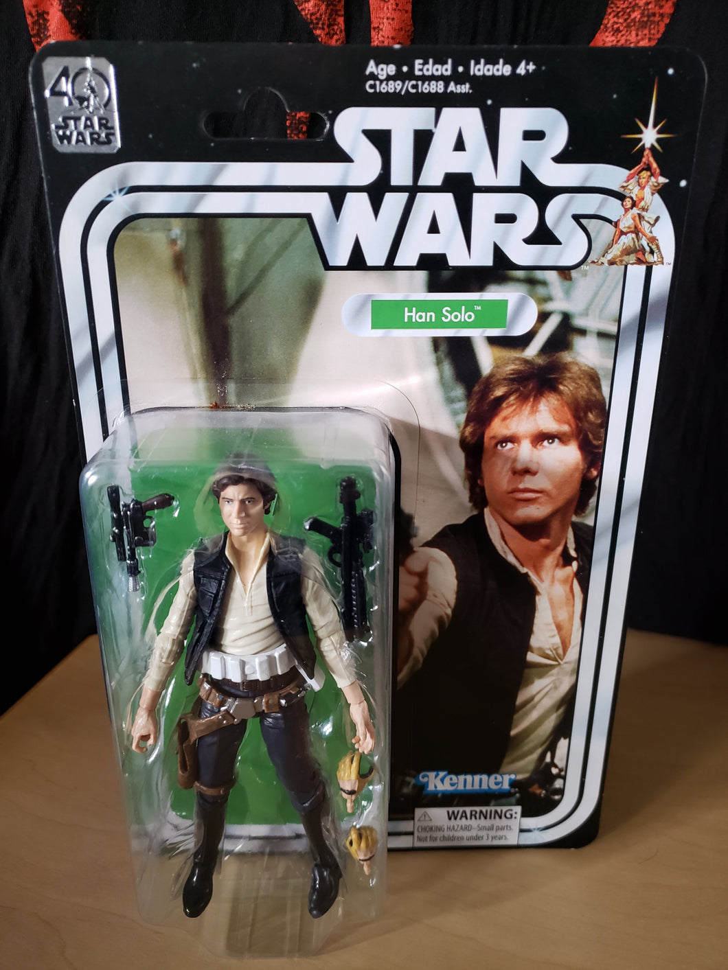 2016 Star Wars 40th Anniversary Kenner - Han Solo (6