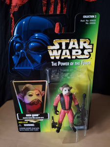 1997 The Power of the Force (POTF2) - Nien Nunb (with Blaster Pistol & Blaster Rifle)