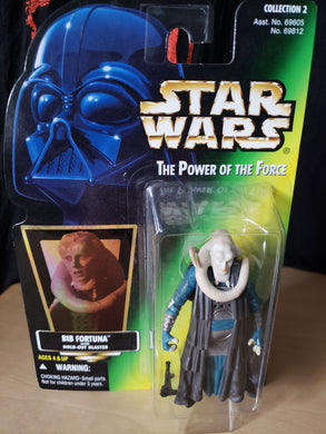 1996 The Power of the Force (POTF2) - Bib Fortuna (with Hold-Out Blaster)
