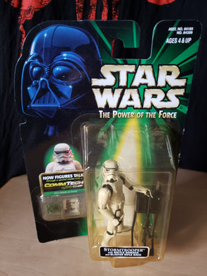 1999 The Power of the Force (POTF2) - Stormtrooper (with battle damage)