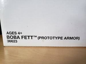 2011 Star Wars TVC Boba Fett Prototype Armor VC61 (mail away in sealed box)