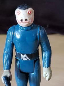 Star Wars Action Figure - Blue Snaggletooth (No Dent) - Sears Exclusive - (CGA Grading)
