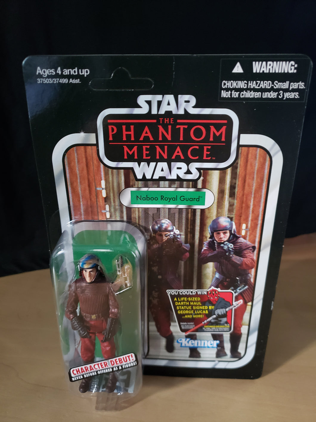 2011 Star Wars TVC The Phantom Menace - Naboo Royal Guard VC83 (Unpunched)