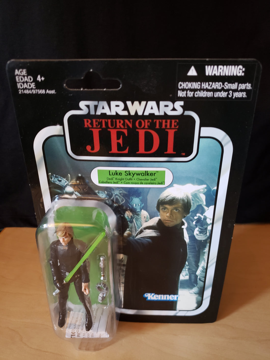 2010 Star Wars TVC Return of the Jedi - Luke Skywalker (Jedi Knight Outfit) VC23
