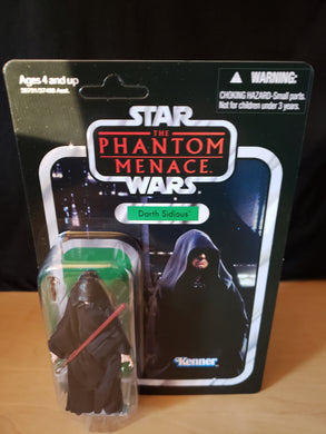 2011 Star Wars TVC The Phantom Menace - Darth Sidious VC79 (Unpunched)