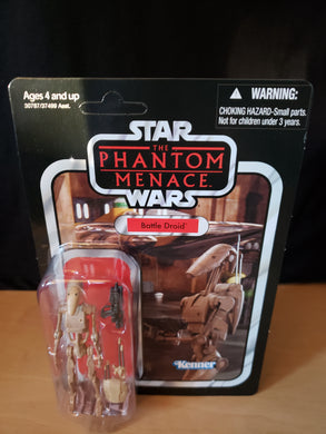 2011 Star Wars TVC The Phantom Menace - Battle Droid VC78 (Unpunched)