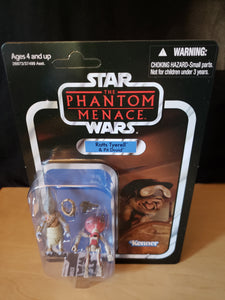 2011 Star Wars TVC The Phantom Menace - Ratts Tyerell & Pit Droid VC77 (Unpunched)