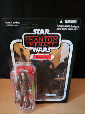 2011 Star Wars TVC The Phantom Menace - Quinlan Vos VC85 (Unpunched)