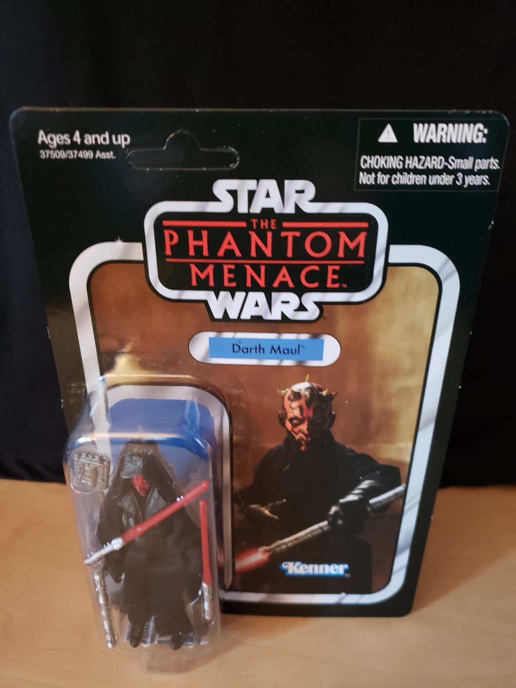 2011 Star Wars TVC The Phantom Menace - Darth Maul VC86 (Unpunched)