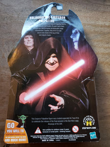 2005 Star Wars Revenge of the Sith - Holographic Emperor Palpatine (Toys R Us Exclusive)