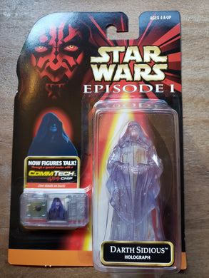 1999 Star Wars Episode I - Darth Sidious Holograph