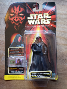1999 Star Wars Episode I - Darth Maul (Tatooine) with Cloak and Lightsaber