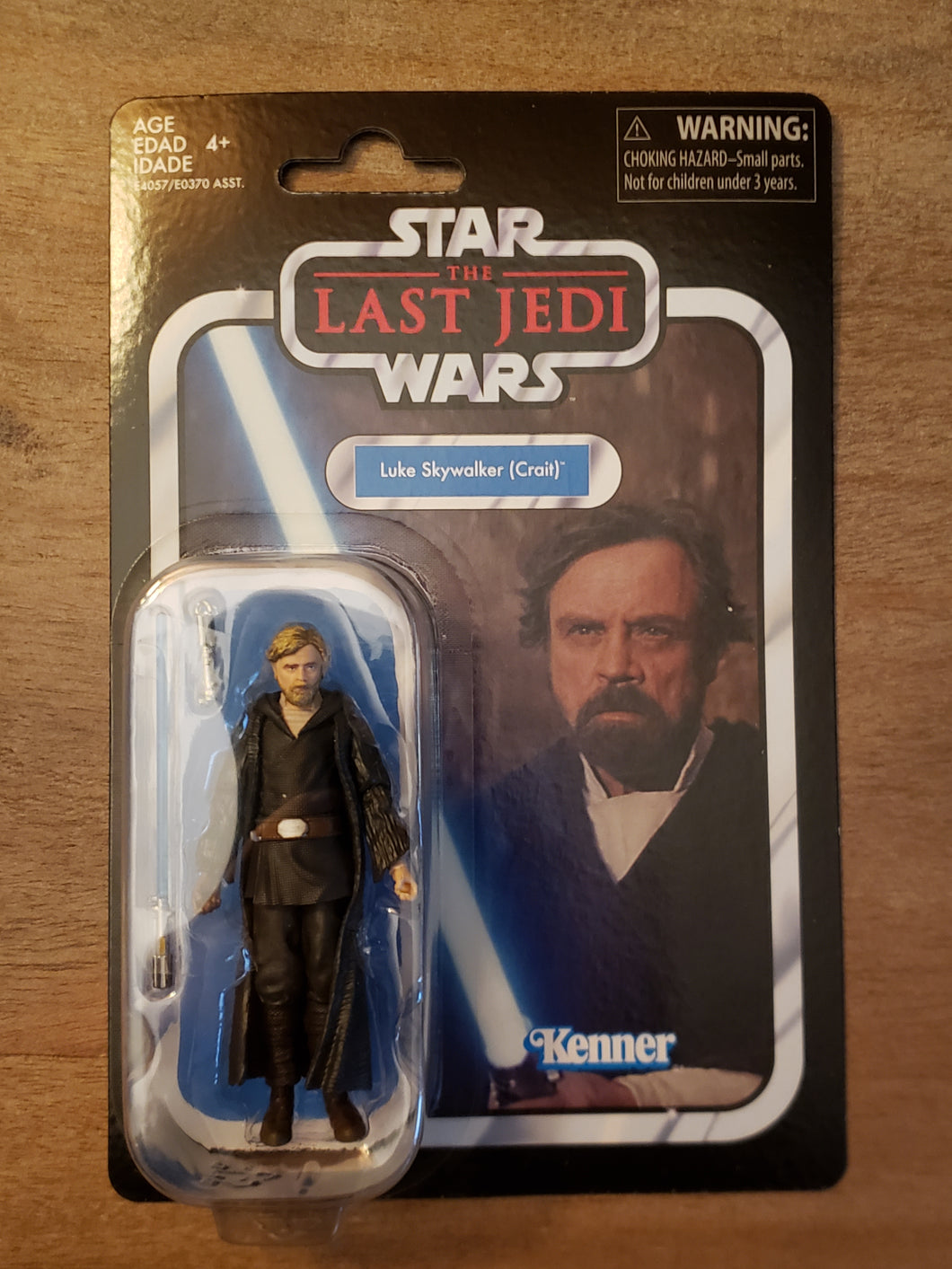 2019 Star Wars TVC Luke Skywalker (Crait) (The Last Jedi) VC146