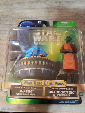 1998 The Power of the Force (POTF2) - Max Rebo Band Pairs: Max Rebo & Doda Bodonawieedo