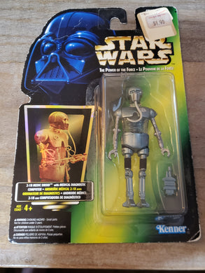1996 The Power of the Force (POTF2) - 2-1B Medical Droid with Medical Diagnostic Computer