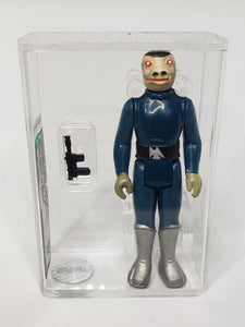 Blue Snaggletooth (No Dent in Boot) AFA 80 NM