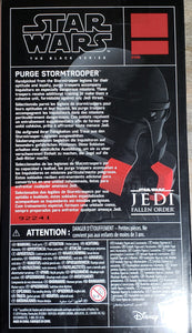 EXCLUSIVE: Star Wars The Black Series Purge Stormtrooper (Limited quantities)