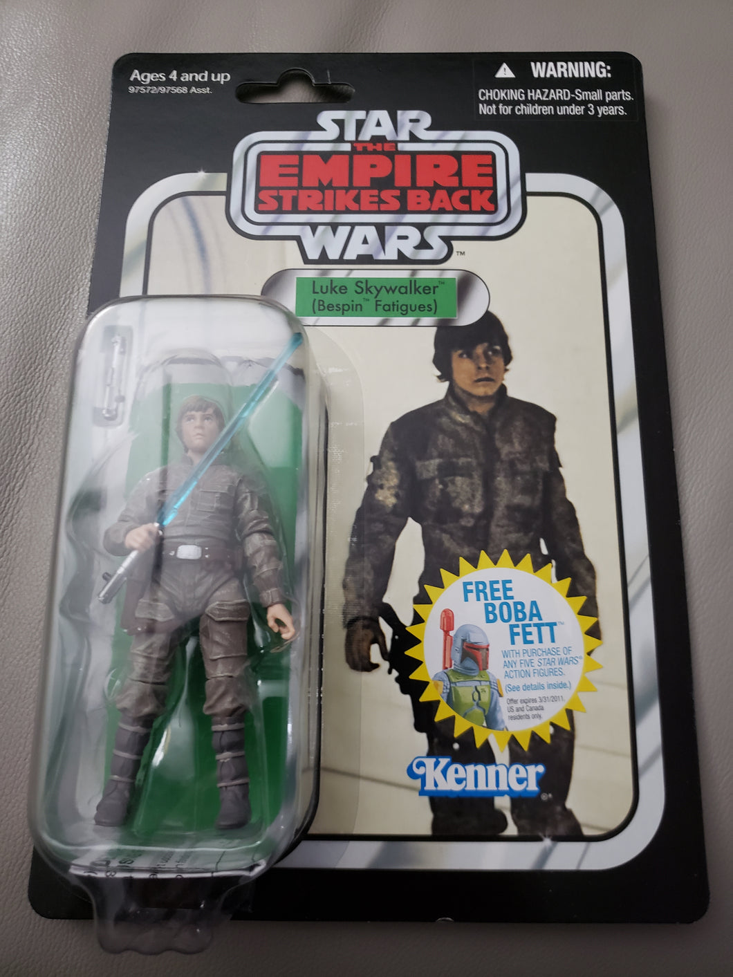 Star Wars TVC Empire Strikes Back - Luke Skywalker (Bespin Fatigues) VC04