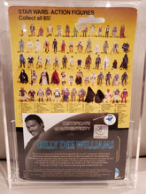 Load image into Gallery viewer, BILLY DEE WILLIAMS AUTOGRAPHED VINTAGE 1983 Star Wars ROTJ Lando Calrissian MOC (SMILING VARIANT) 65 A