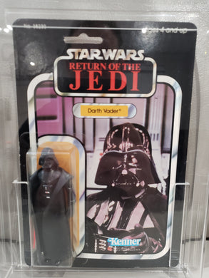 VINTAGE 1983 Kenner ROTJ Darth Vader (MADE IN MEXICO / LEDY) MOC 77 A
