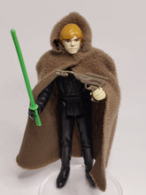 Load image into Gallery viewer, VINTAGE 1983 Kenner ROTJ Luke Skywalker (Jedi Knight outfit) loose complete C9 (Green saber)