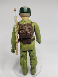 VINTAGE 1983 Kenner ROTJ Rebel Commando loose complete C9 (China COO)