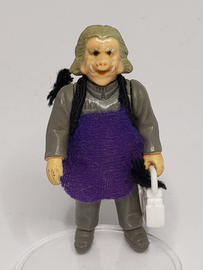 VINTAGE 1980 Kenner ESB Ugnaught (Grey hair) loose complete C9 (Purple smock)