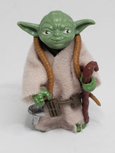 Load image into Gallery viewer, VINTAGE 1980 Kenner ESB Yoda (Brown snake) loose complete C9