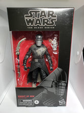 Load image into Gallery viewer, Star Wars Black Series Knight of Ren  #105