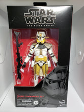 Load image into Gallery viewer, Star Wars Black Series Clone Commander Bly #104