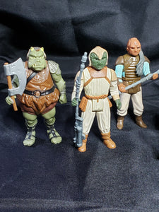 ROTJ Skiff loose 8 figure lot