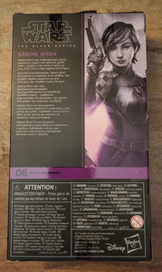Star Wars Black Series Sabine Wren (new pkg)