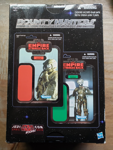 Star Wars Celebration V exclusive Vintage Collection Bounty Hunters 2-Pack