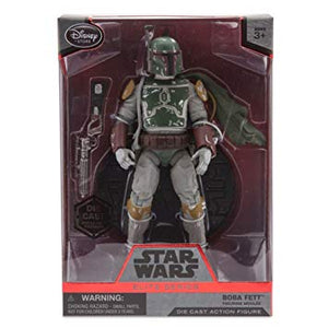 Boba Fett (Rare) - Disney Star Wars Elite Series (1st release)