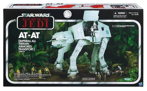 2017 Star Wars TVC AT-AT ROTJ with Speeder Bike (vehicle)