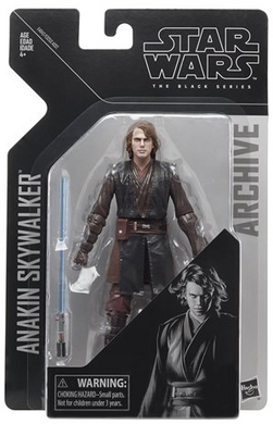 Star Wars The Black Series Archive Anakin Skywalker 6-Inch Action Figure