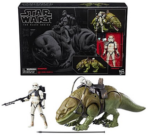 Star Wars The Black Series 6-Inch Dewback and Sandtrooper Action Figure - Exclusive