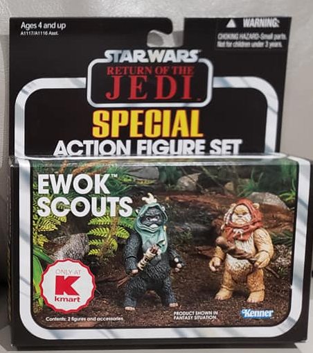 Star Wars The Vintage Collection - Ewok Scouts