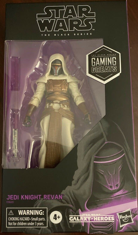 EXCLUSIVE: Star Wars The Black Series Jedi Knight Revan (Limited quantities)