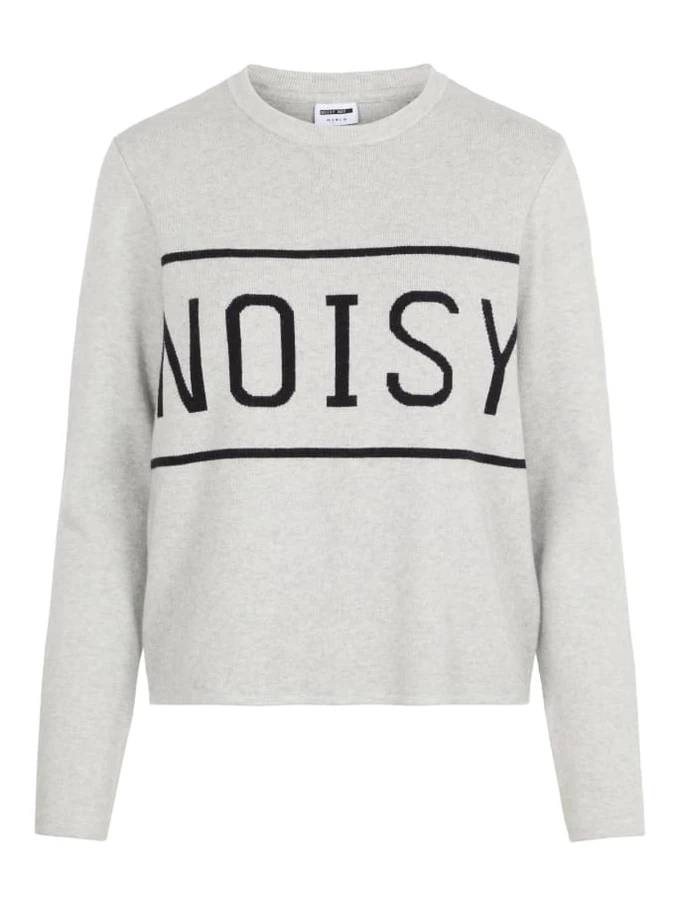 NoisyMay-Chandail A Tricot Avec Logo