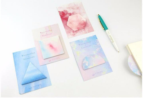 Watercolor Sticky Notes