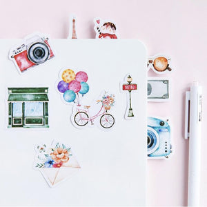 Travel Stickers - 45 pack