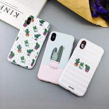 Load image into Gallery viewer, Cute Cactus Phone Case